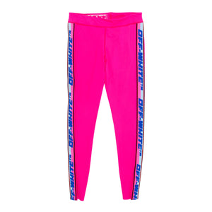 OFF-WHITE ATHLEISURE LEGGINGS PINK