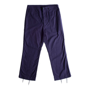 NEEDLES SATEEN PANTS NAVY