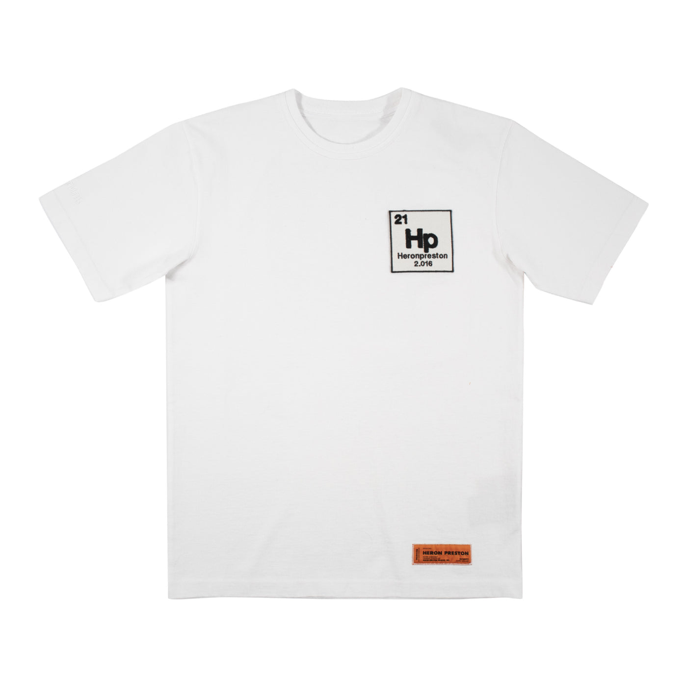 Load image into Gallery viewer, HERON PRESTON PRINTED T-SHIRT WHITE
