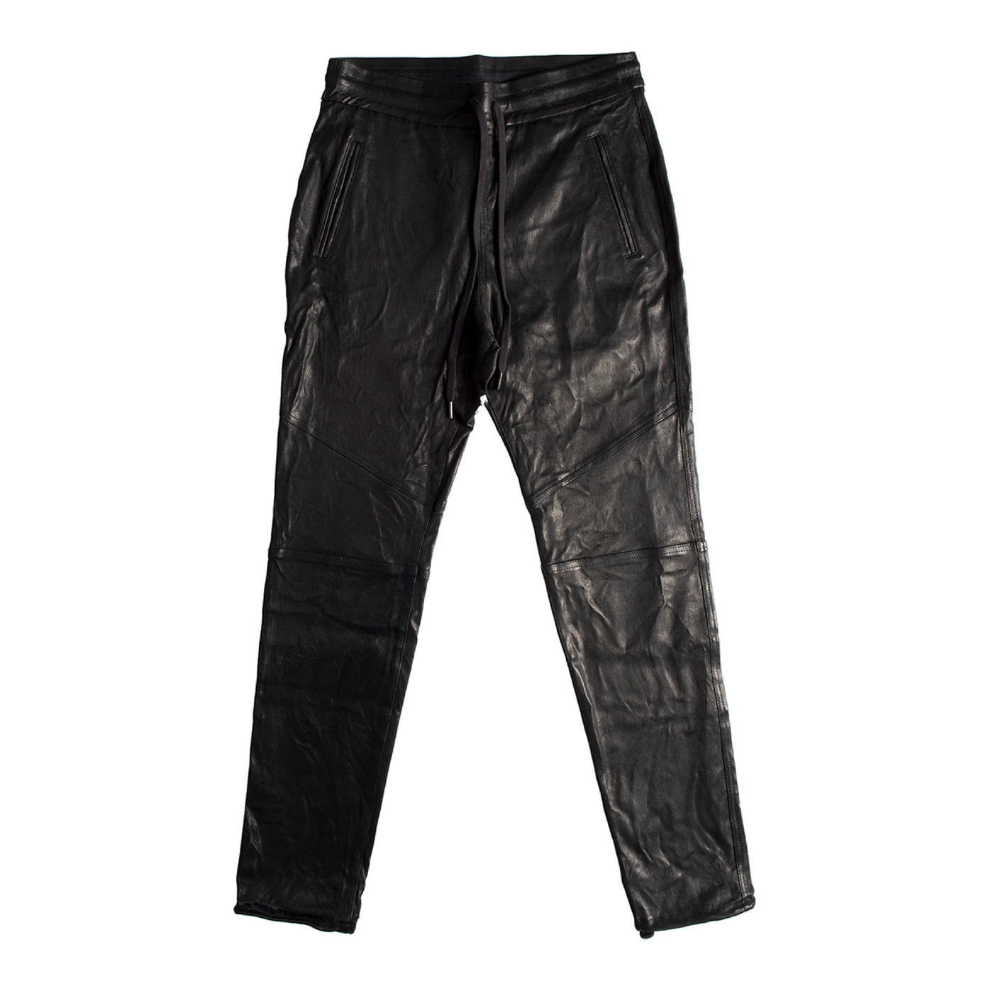 Load image into Gallery viewer, JOHN ELLIOTT LEATHER ESCOBAR PANTS BLACK