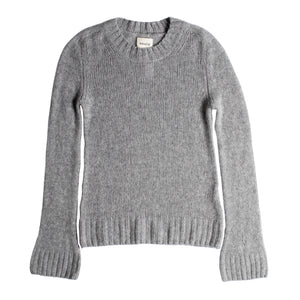 KHAITE MARY JANE PULLOVER SWEATER GREY