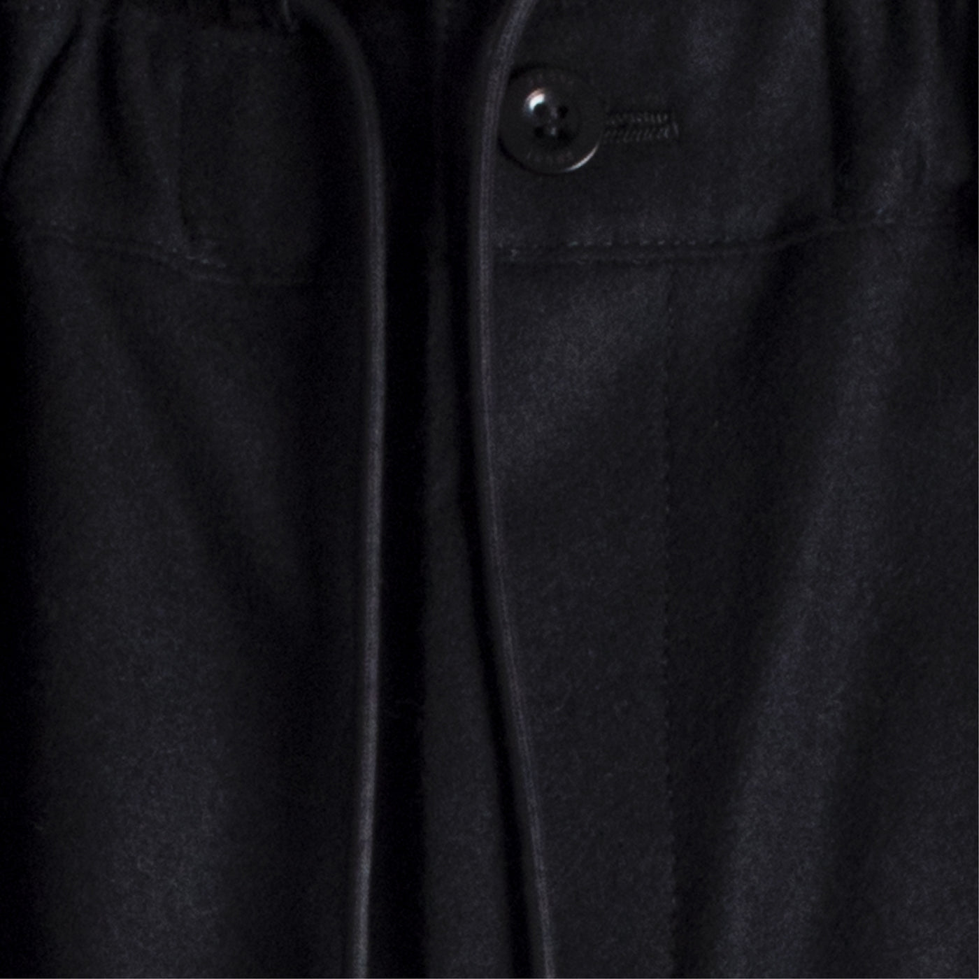 Load image into Gallery viewer, SACAI WOOL MELTON PANTS BLACK
