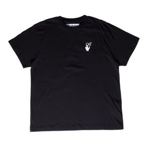 OFF-WHITE PASCAL ARROW OVER TEE BLACK