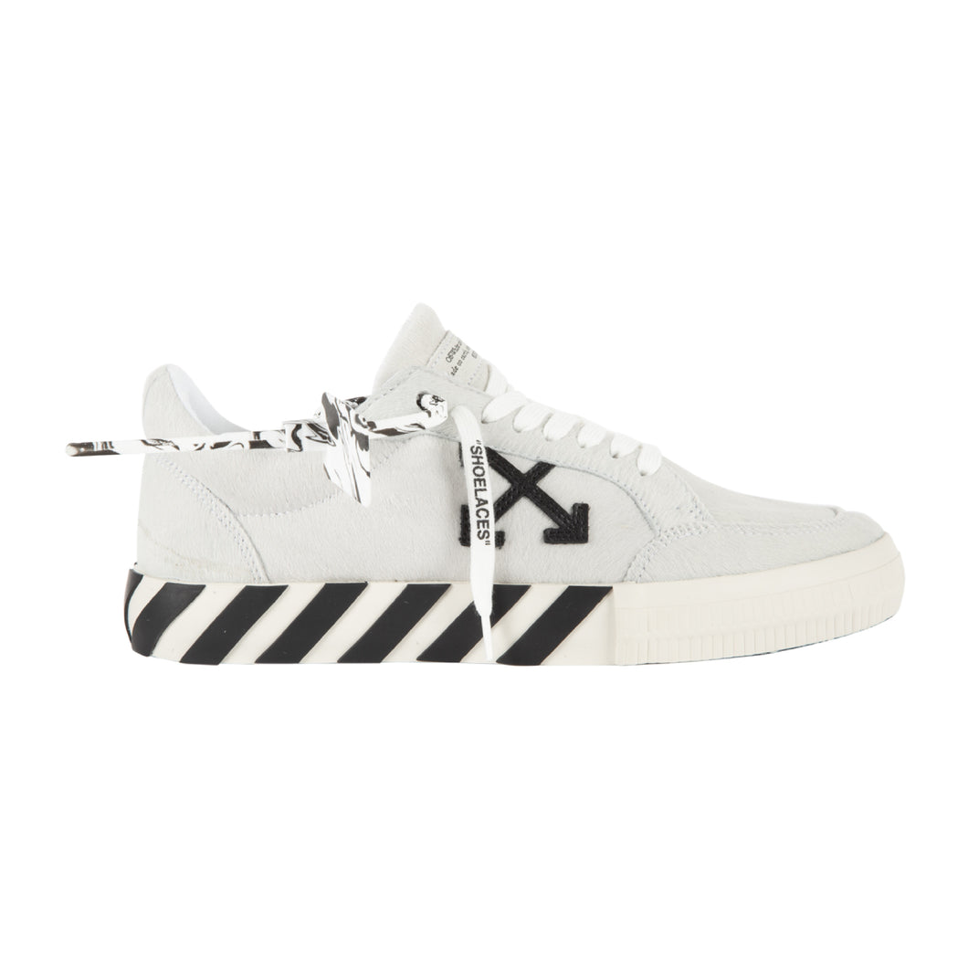 OFF-WHITE PONY LOW VULCANIZED SNEAKER WHITE