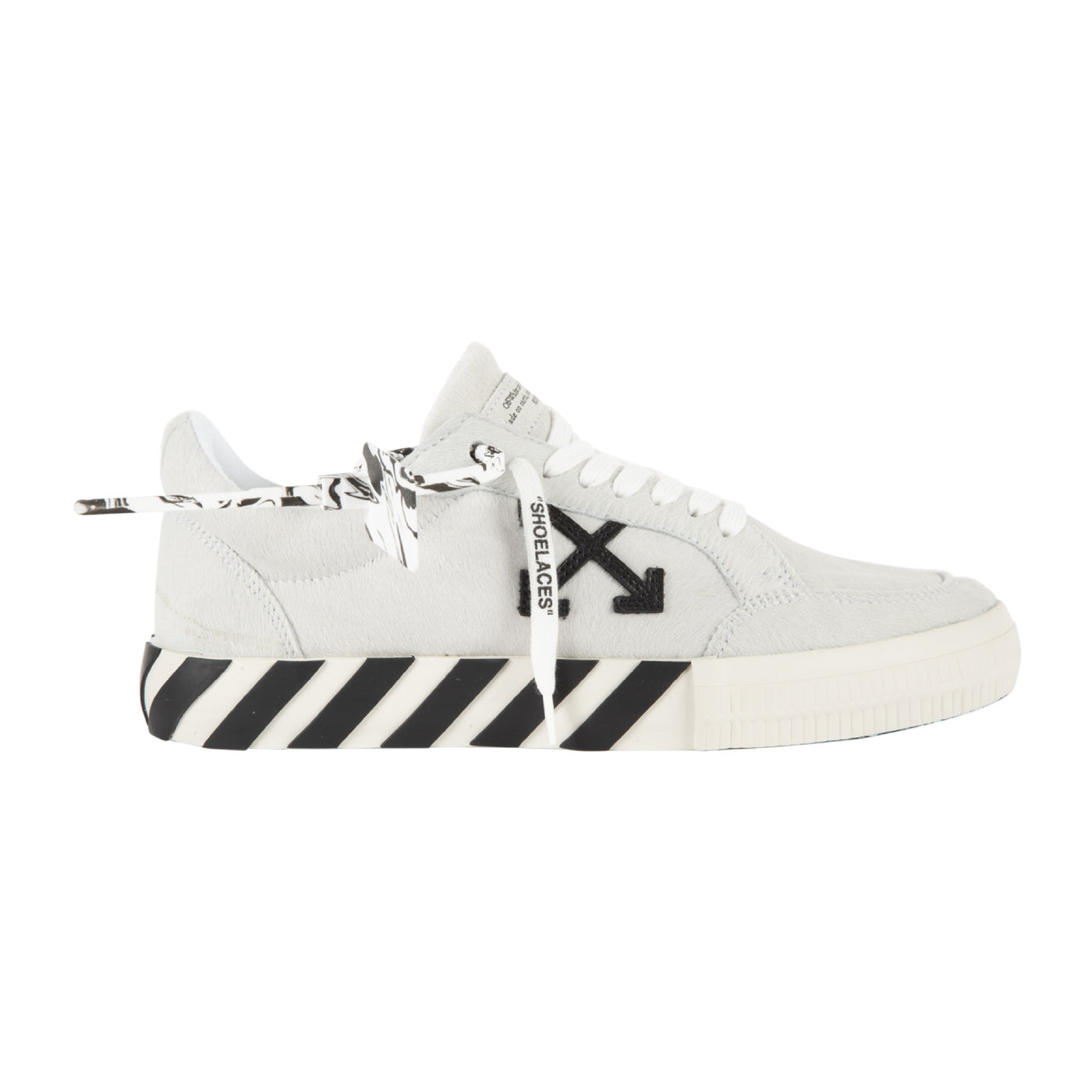 Load image into Gallery viewer, OFF-WHITE PONY LOW VULCANIZED SNEAKER WHITE