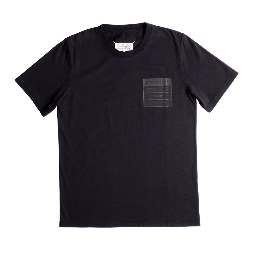 MAISON MARGIELA T-SHIRT BLACK