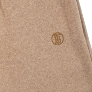 "BURBERRY ""HURST"" KNIT TROUSERS NEUTRAL"