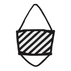 OFF-WHITE DIAGONALS MASK BLACK