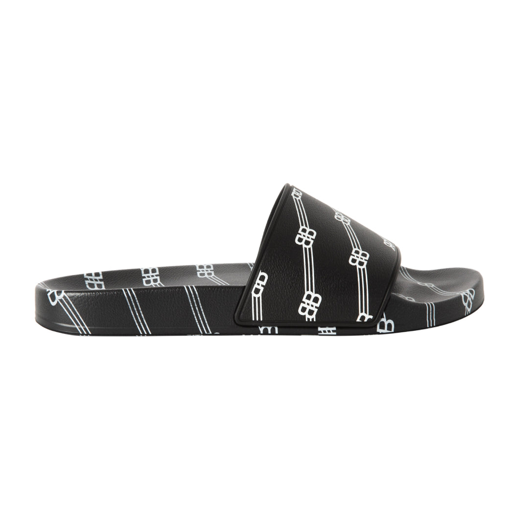BALENCIAGA POOL SLIDE BLACK