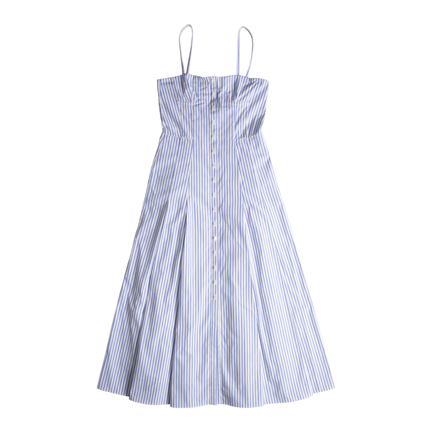 Load image into Gallery viewer, GABRIELA HEARST PRUDENCE DRESS BLUE