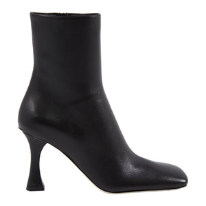 PROENZA SCHOULER SQUARE-TOE ANKLE BOOT BLACK