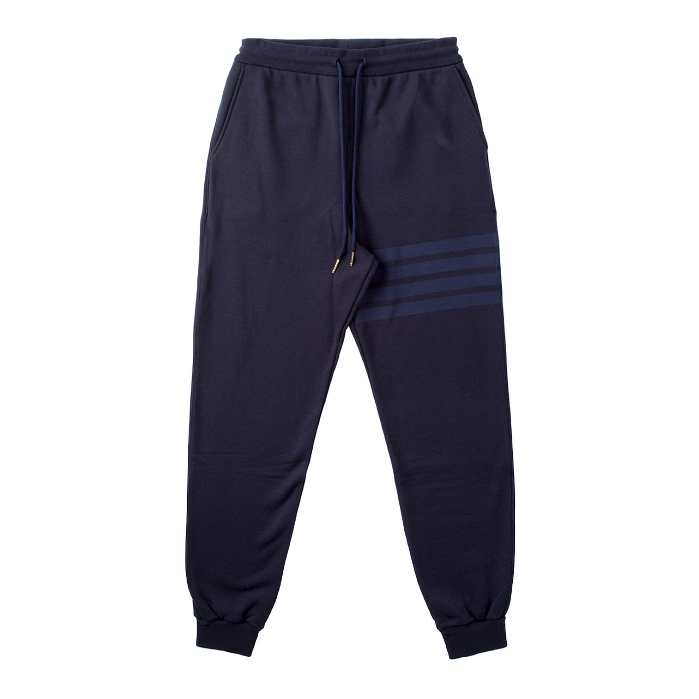 Load image into Gallery viewer, THOM BROWNE SWEATPANTS NAVY