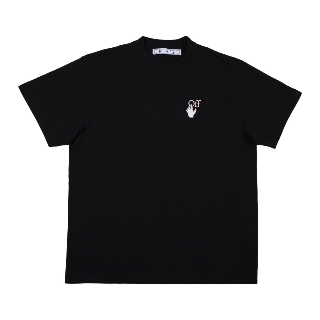 OFF-WHITE MARKER S-S OVER TEE BLACK