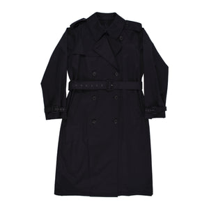 NILI LOTAN TANNER TRENCH COAT BLACK