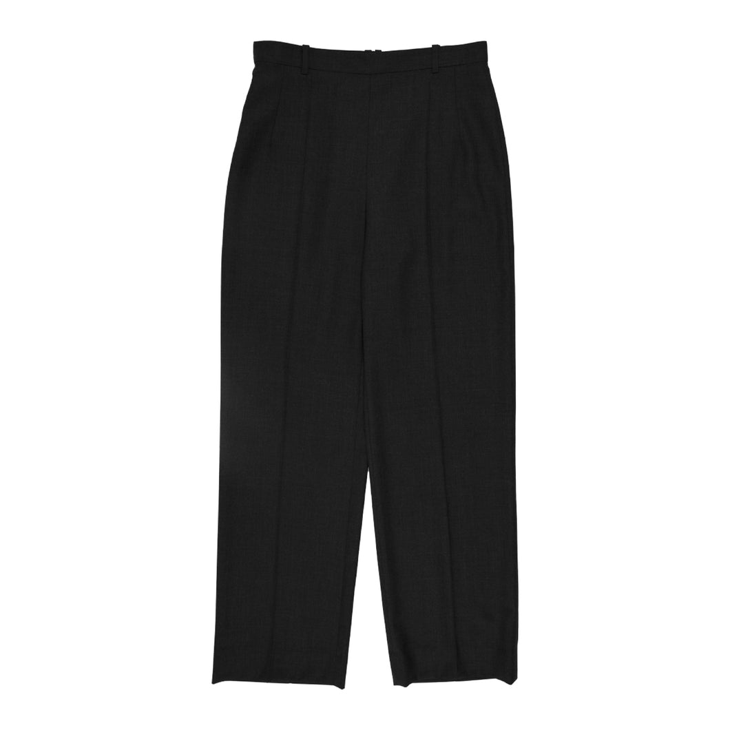 THE ROW WOOL PANTS GREY