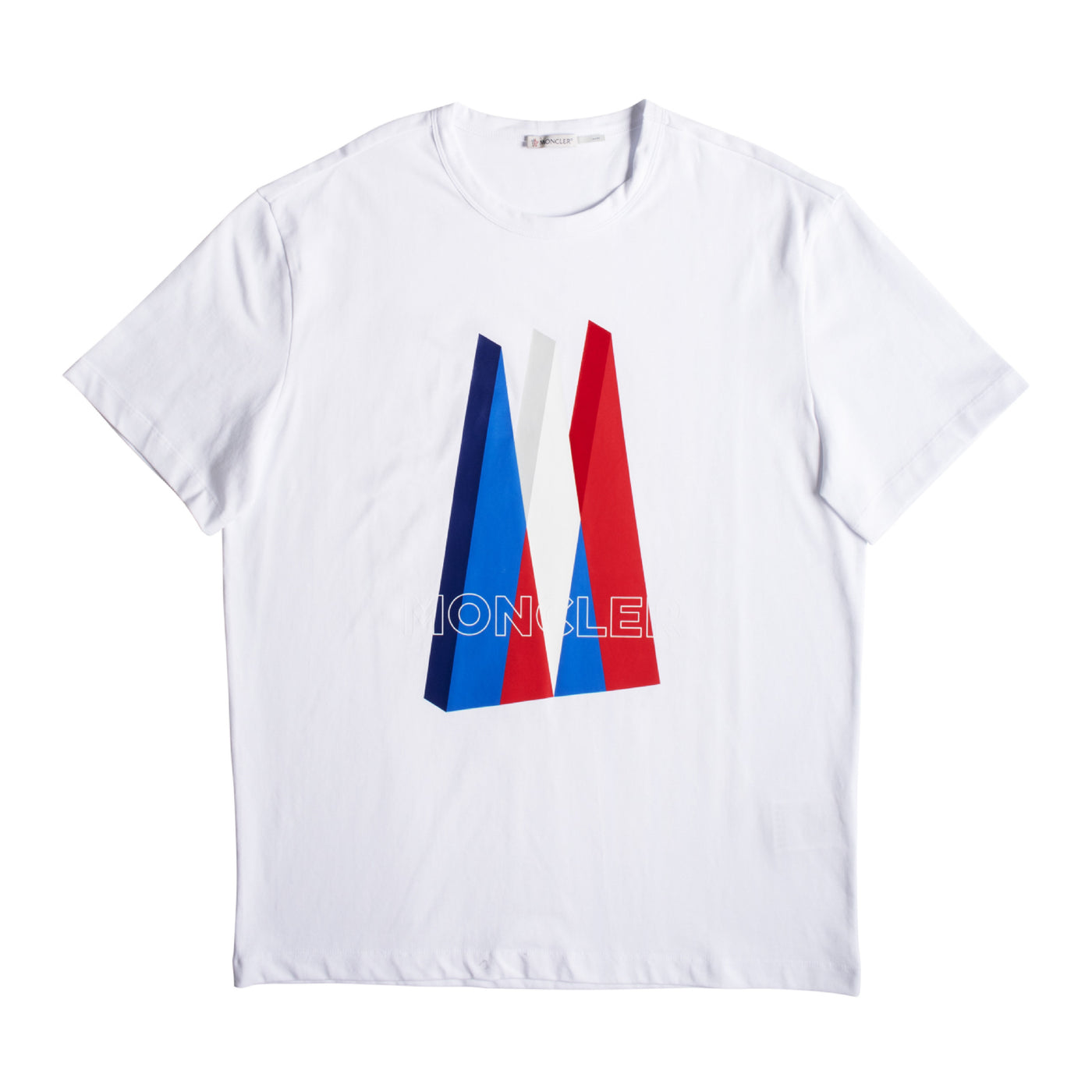 "Load image into Gallery viewer, MONCLER ""MAGLIA"" T-SHIRT WHITE"