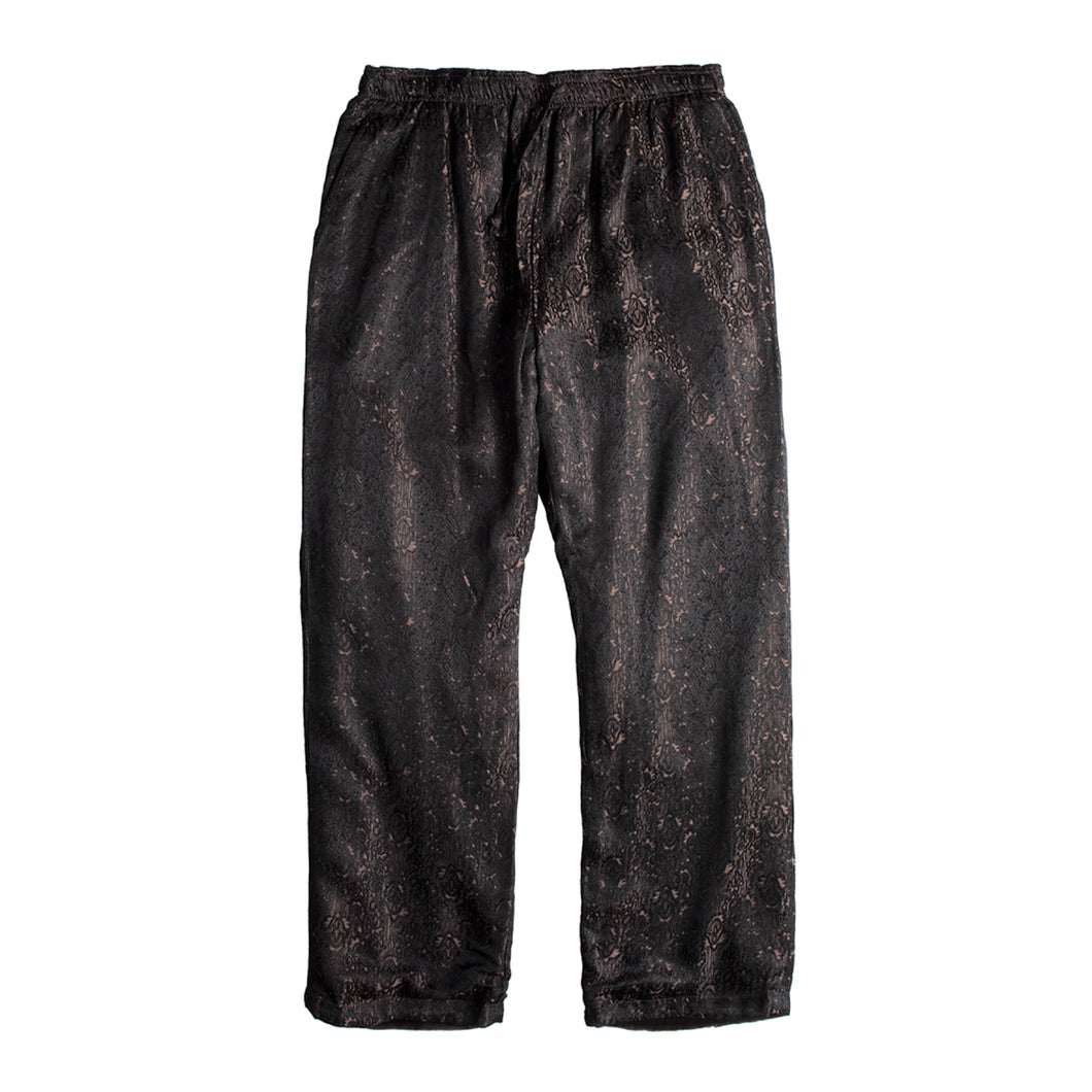 NEEDLES LEOPARD LOUNGE PANTS BLACK