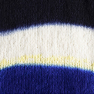 GABRIELA HEARST LAWRENCE DIP DYE SWEATER BLUE