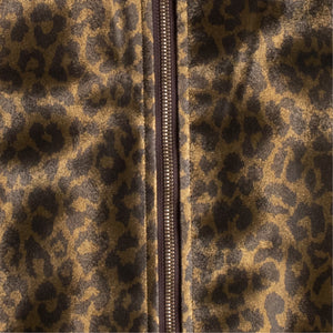 NEEDLES LEOPARD JACKET BROWN