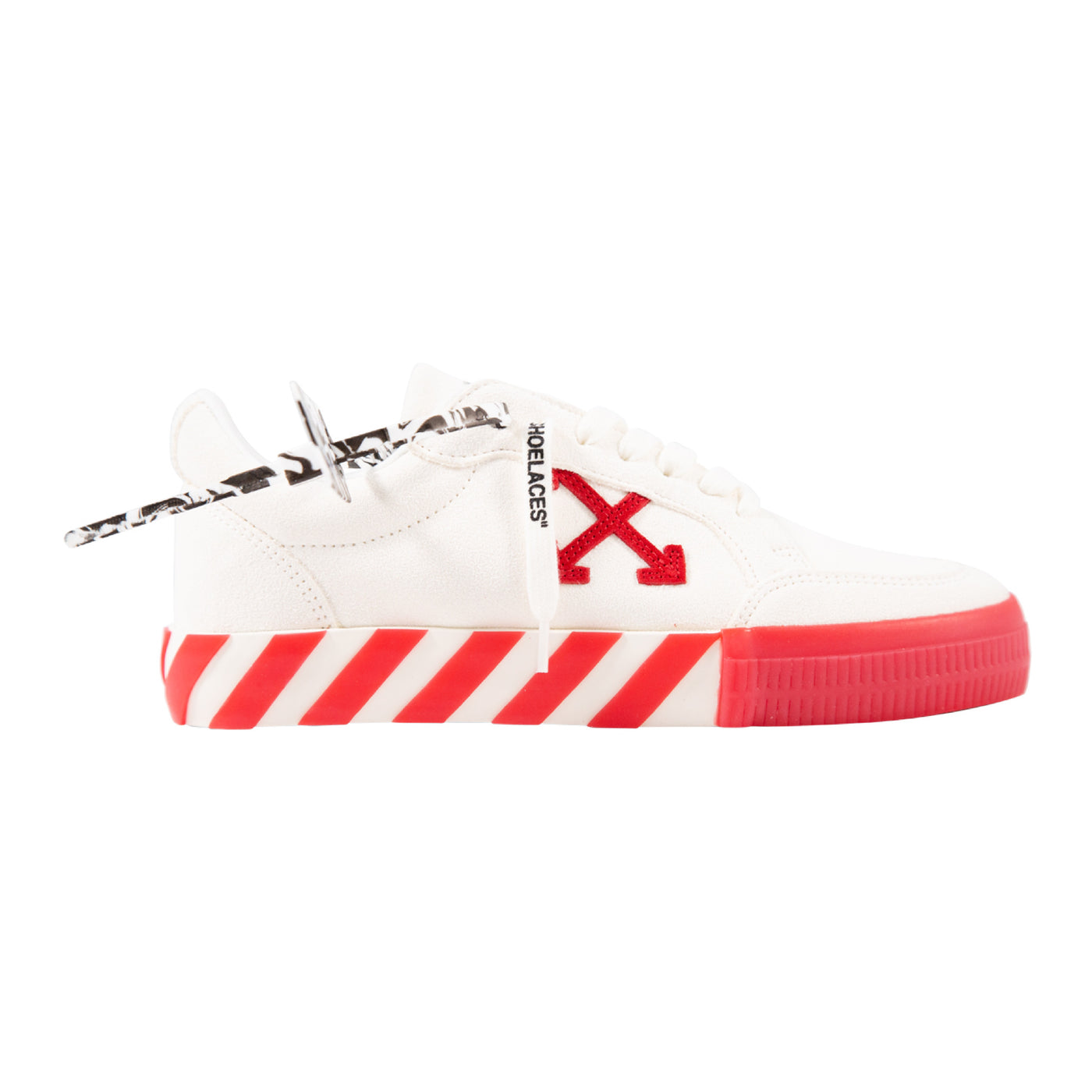 Load image into Gallery viewer, OFF-WHITE LOW VULCANIZED SNEAKERS WHITE
