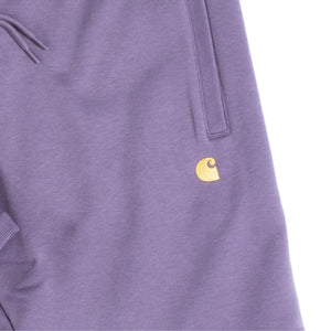 CARHARTT WIP CHASE SWEAT SHORT PURPLE