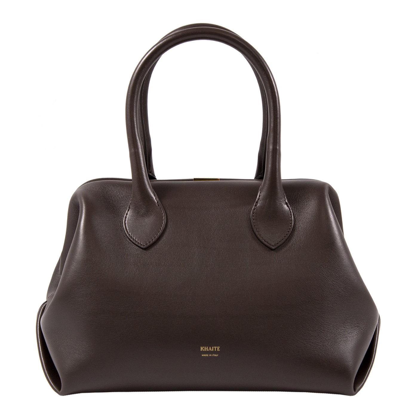 Load image into Gallery viewer, KHAITE SMALL DOCTOR BAG BROWN