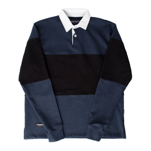 NOON GOONS RUGBY POLO SHIRT NAVY