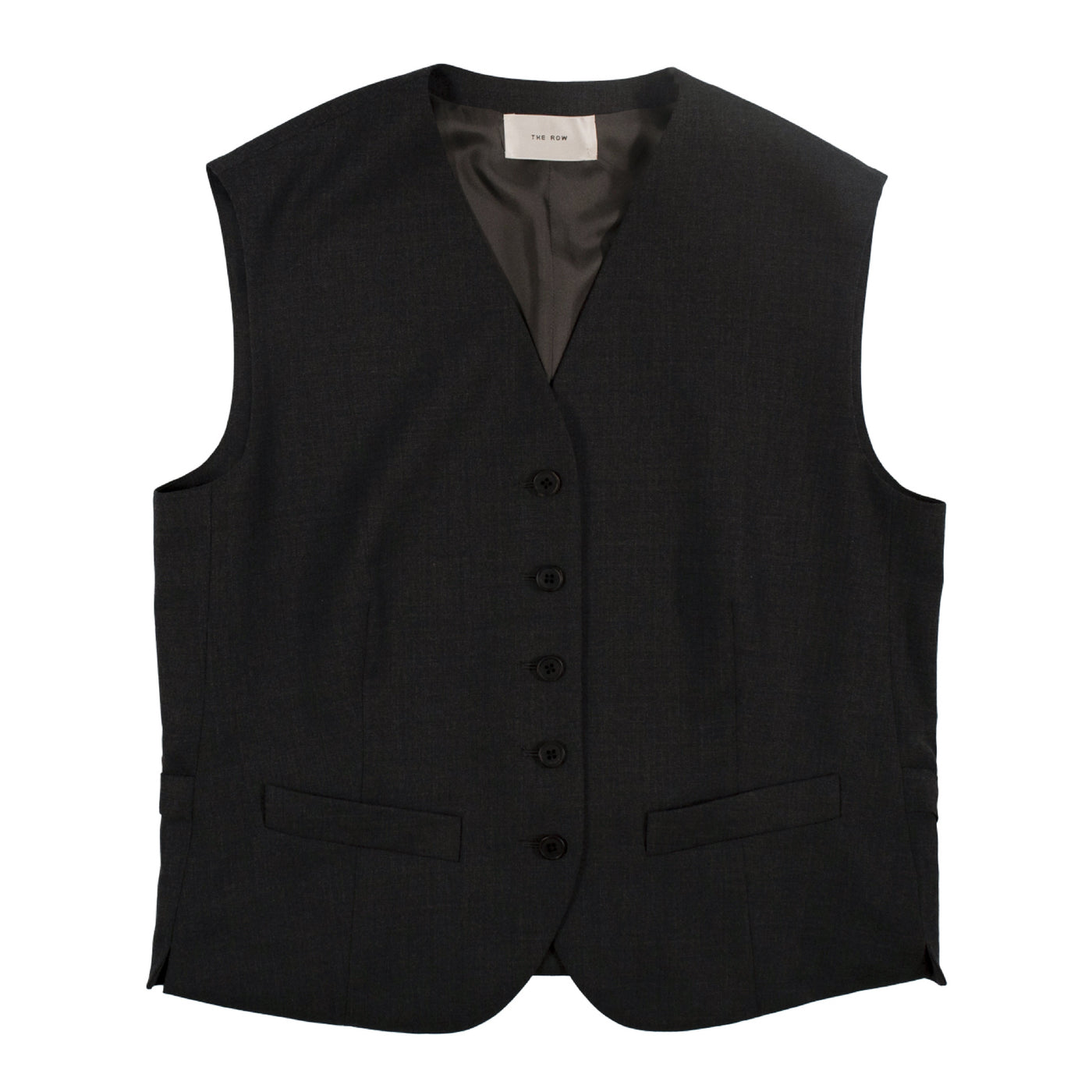 Load image into Gallery viewer, THE ROW WOOL VEST GREY
