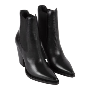 SAINT LAURENT THEO 95 BOOTIE BLACK