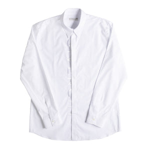 GIVENCHY EMBROIDERED SHIRT WHITE