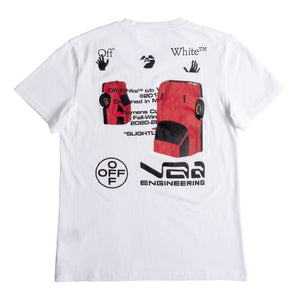 OFF-WHITE CAR COLLECTION CASUAL TEE WHITE