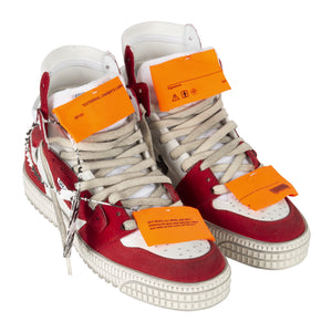 OFF-WHITE OFF COURT SNEAKER RED