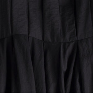LOEWE PLEATED DRESS BLACK