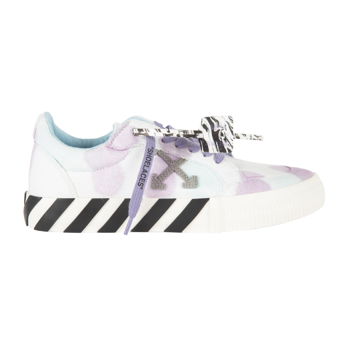 Load image into Gallery viewer, OFF-WHITE TIE-DYE LOW VULCANIZED SNEAKER WHITE
