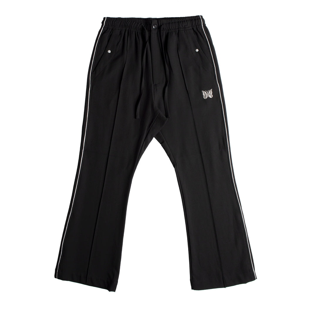 NEEDLES PIPED TROUSERS BLACK