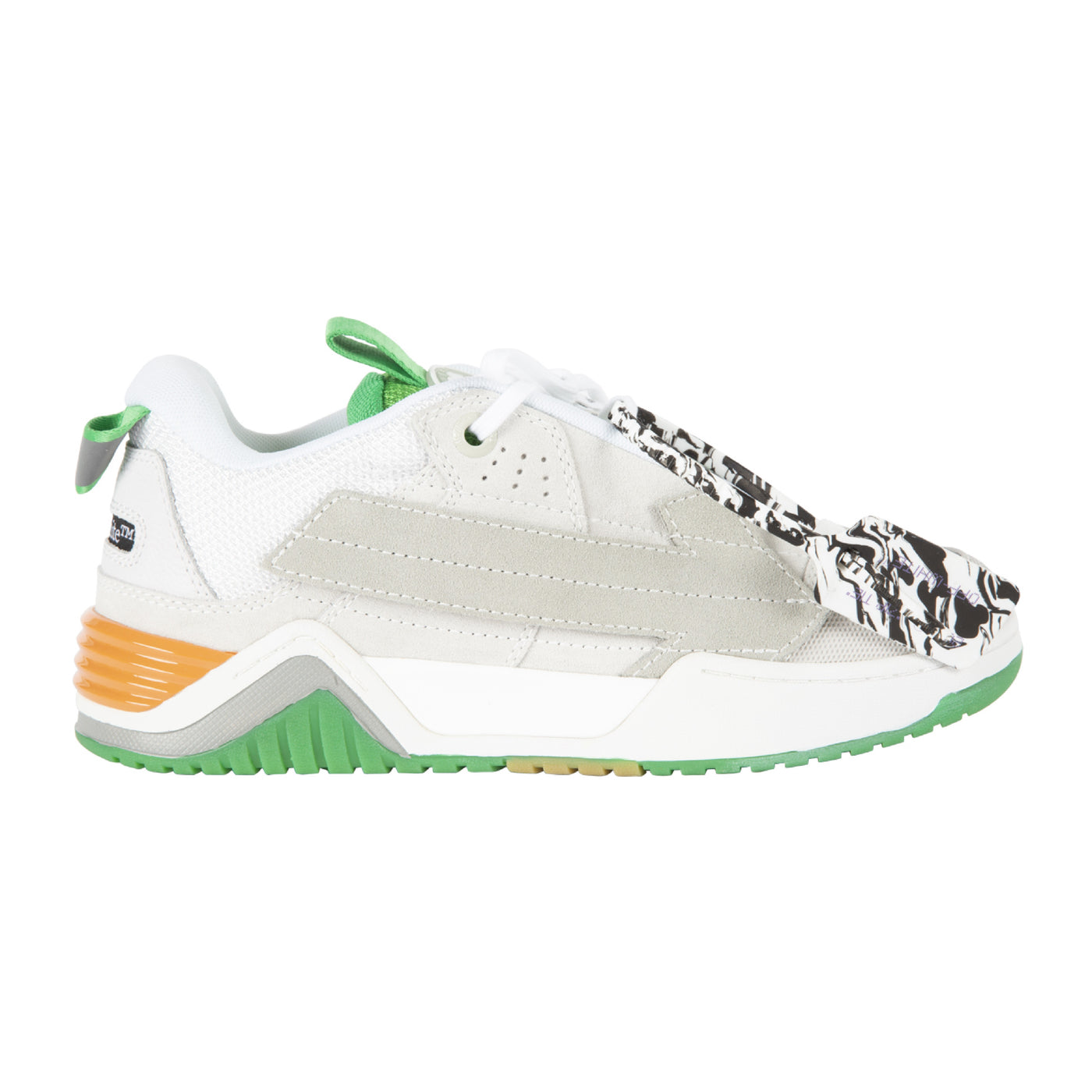 Load image into Gallery viewer, OFF-WHITE ARROW SKATE SNEAKER WHITE