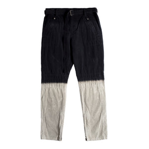 SACAI CORDUROY PANTS BLACK