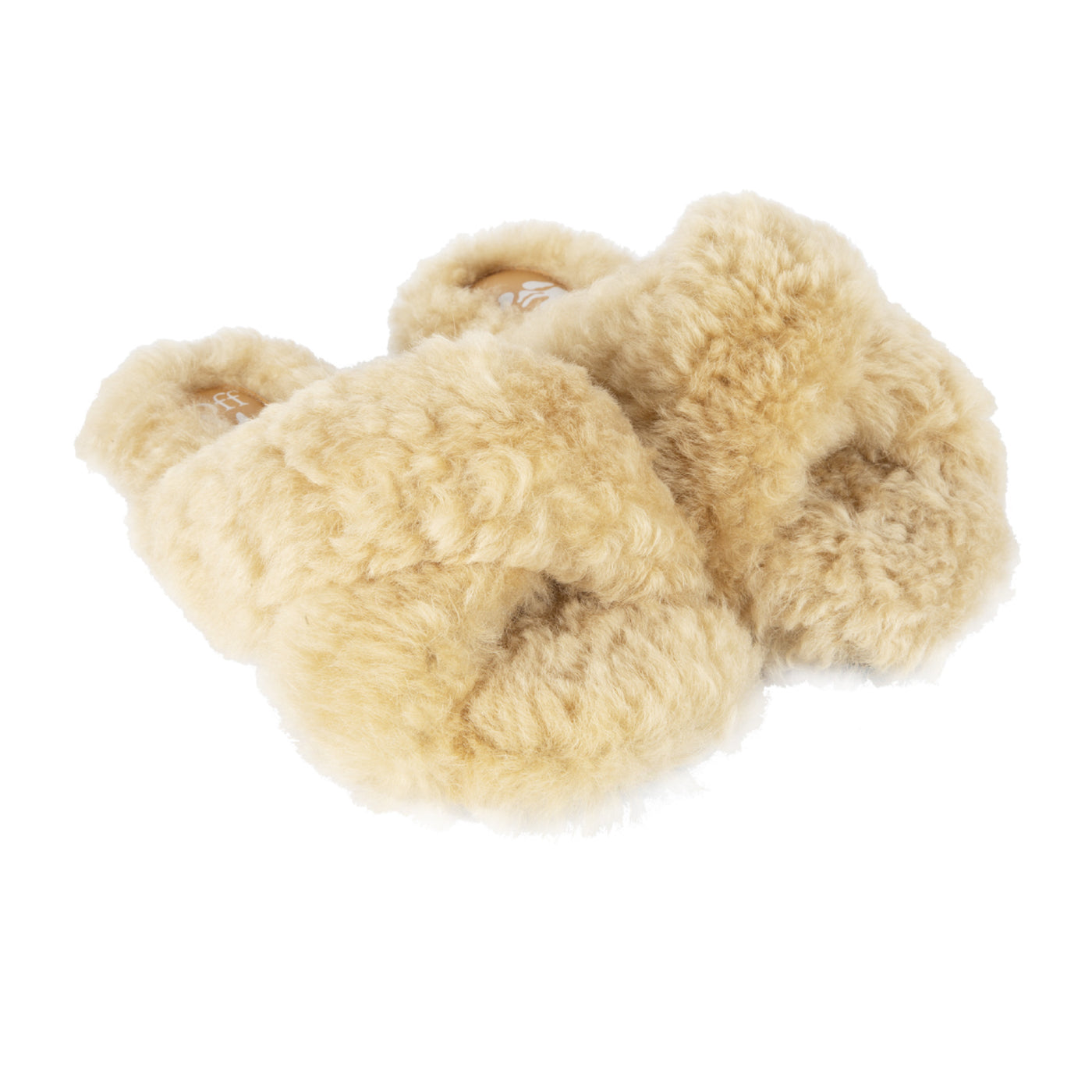 Load image into Gallery viewer, OFF-WHITE SPIKE MERINOS SLIPPER NEUTRAL