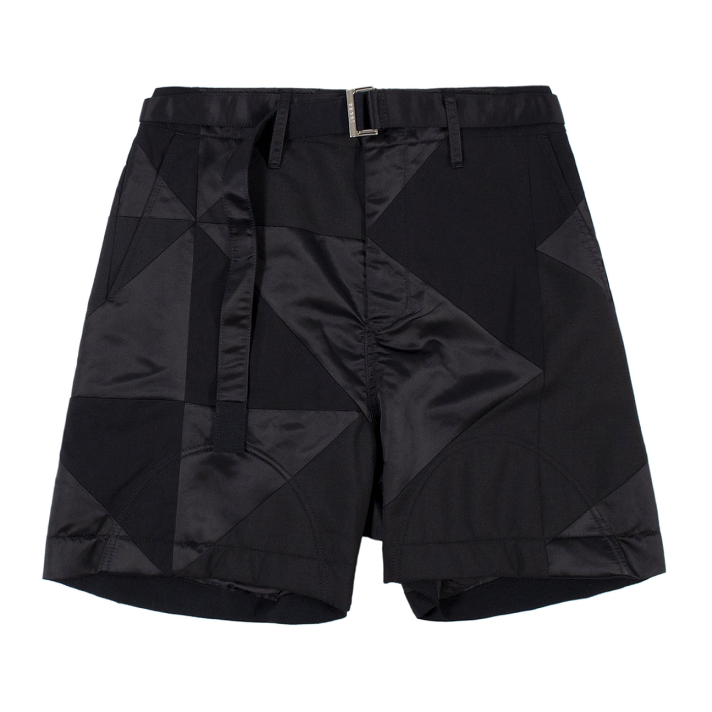 Load image into Gallery viewer, SACAI PRINT SHORTS BLACK