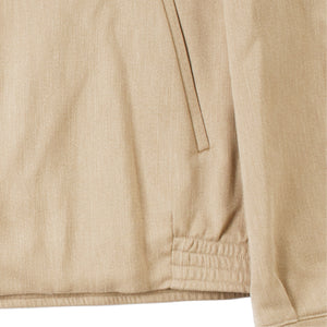 VISVIM ZIP-UP JACKET NEUTRAL