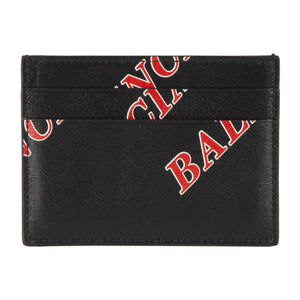 BALENCIAGA CASH CARD HOLDER BLACK
