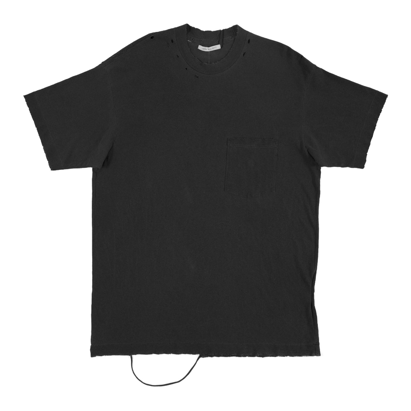 Load image into Gallery viewer, JOHN ELLIOTT DISTRESSED T-SHIRT BLACK