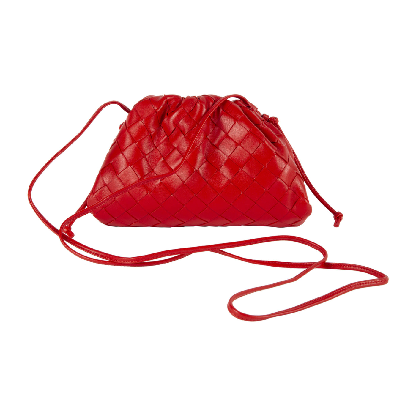 Load image into Gallery viewer, BOTTEGA VENETA THE MINI POUCH RED