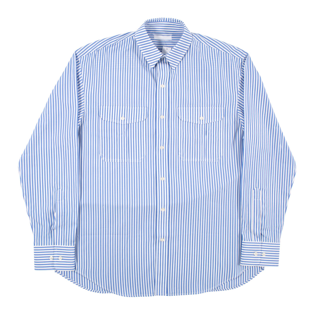 WARDROBE.NYC OVERSIZED BUTTON-DOWN SHIRT BLUE