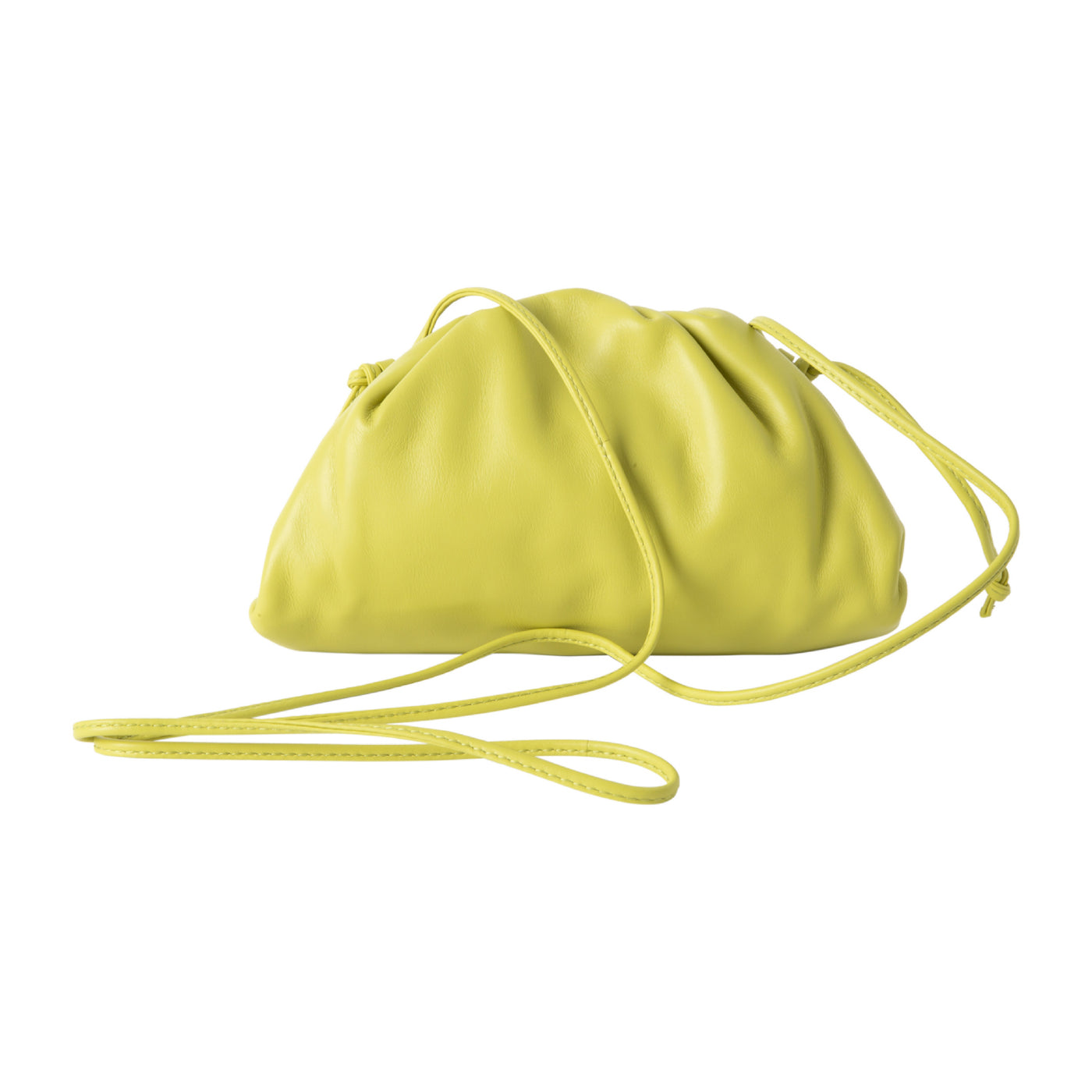Load image into Gallery viewer, BOTTEGA VENETA THE MINI POUCH YELLOW