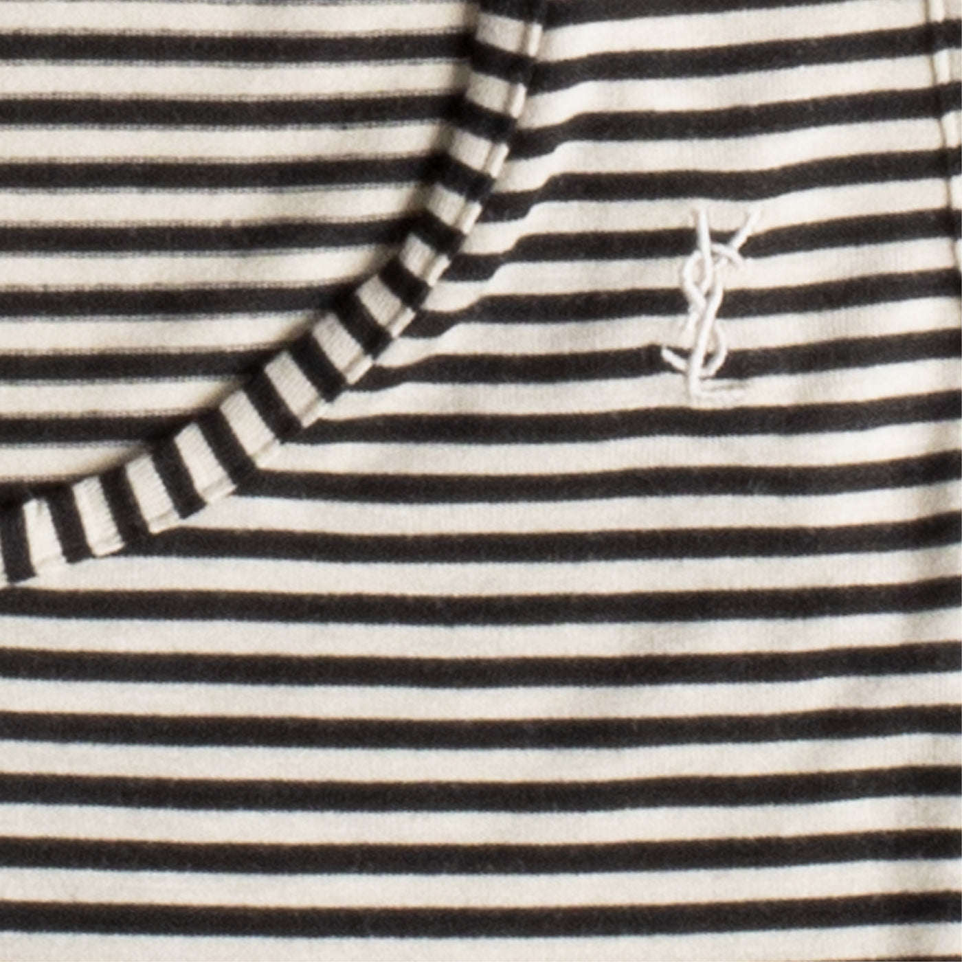 Load image into Gallery viewer, SAINT LAURENT STRIPED TANK BLACK