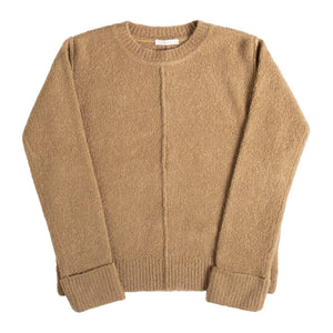 THE ROW CASHMERE-BLEND SWEATER NEUTRAL