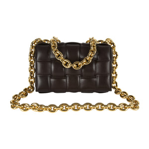 BOTTEGA VENETA THE CHAIN CASSETTE BROWN