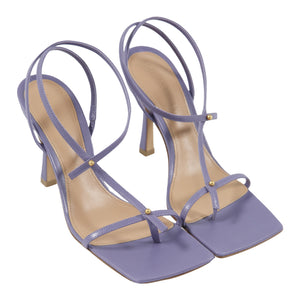 BOTTEGA VENETA STRAPPY SANDALS PURPLE