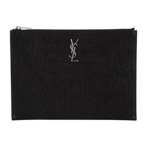 SAINT LAURENT I-PAD CASE BLACK